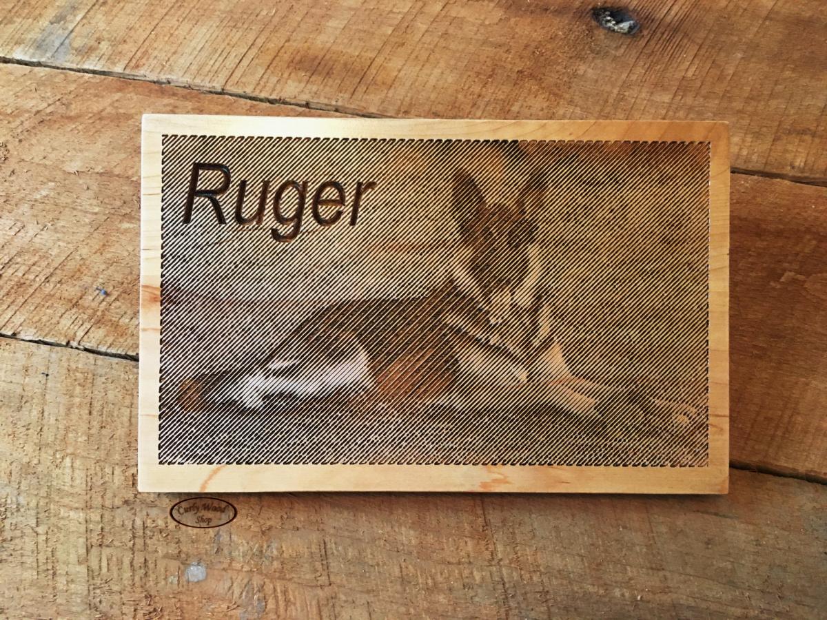 V-bit photo carving and US Flag-001-ruger-v-bit-carving.jpg