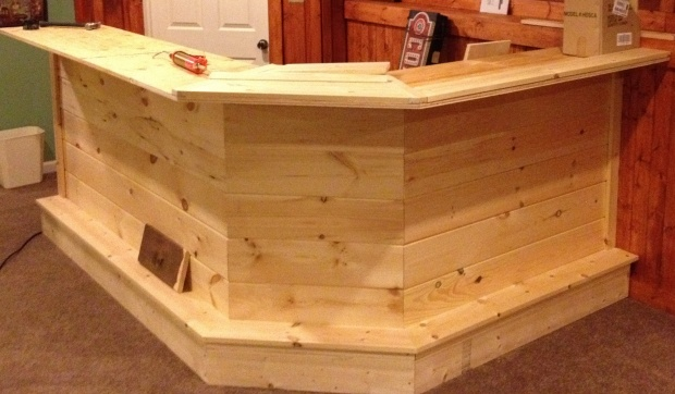 building my basement bar - Woodworking Talk - Woodworkers Forum