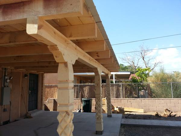 Patio Covers Attached To House