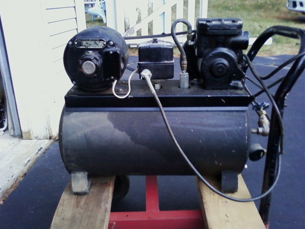 Vintage Air Compressors Woodworking Talk Woodworkers Forum