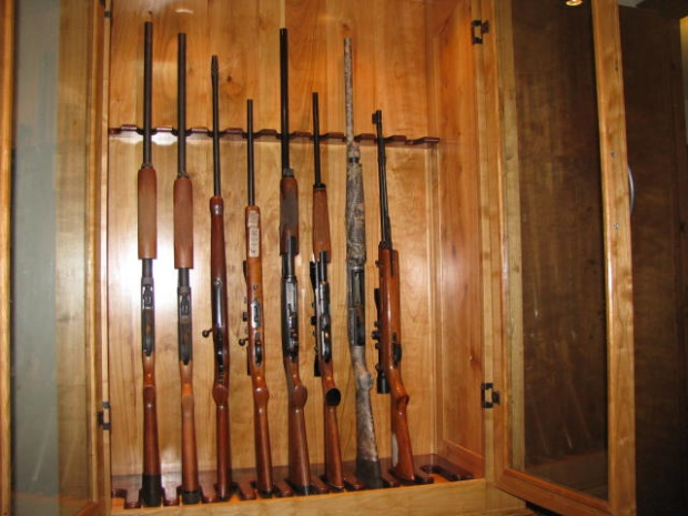 10 gun gun cabinet plans
