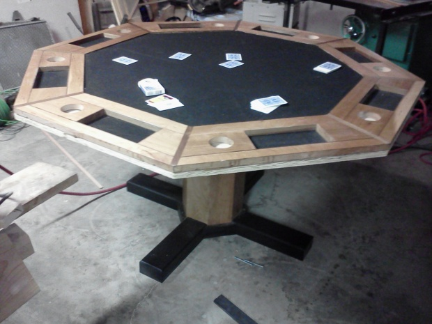 Poker Table Build Page 2 Woodworking Talk