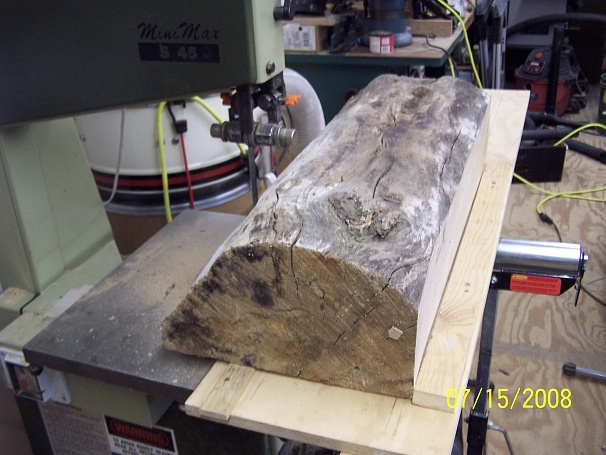 Cross Cut Sled For Band Saw Woodworking Talk