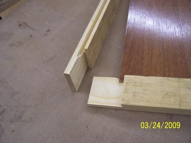 Biscuit Joint On Door Frames Woodworking Talk Woodworkers Forum