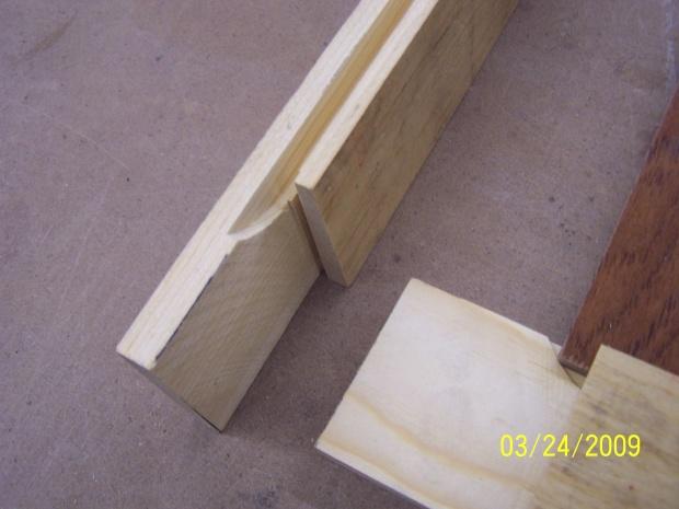 Methods To Make Half Laps Woodworking, Kitchen Cabinet Door Joints