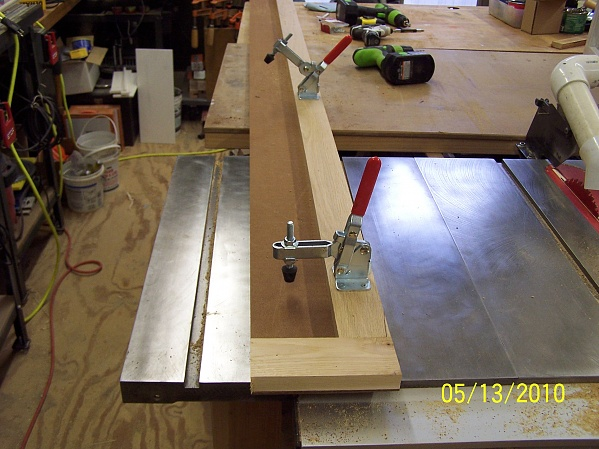 Board Straightening Jig for Table Saw - Woodworking Talk - Woodworkers Forum