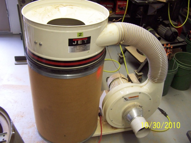 Dust Collection In Woodnthings Shop Part 1 Woodworking