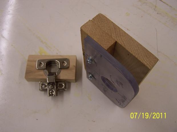 Euro 35mm Or 1 38 Concealed Hinge Jig Woodworking Talk