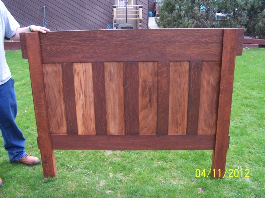 mission headboard build  woodworking talk  woodworkers forum, Headboard designs