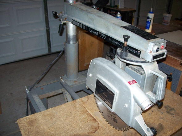 Radial Arm Saw Delta model 790 - Woodworking Talk ...