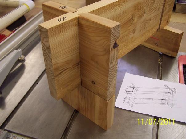 Double Dado Cross Half Lap Joint Woodworking Talk