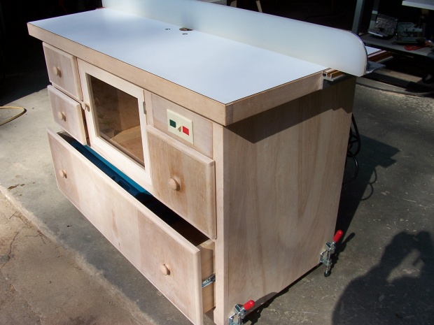 Router Table And Fence Woodworking Talk Woodworkers Forum