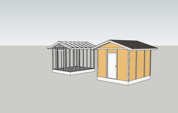 Woodwork How To Build A 10x12 Wood Shed Pdf Plans