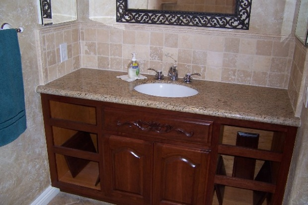 Design building a bathroom vanity woodworking talk - Bathroom vanity plans woodworking ...