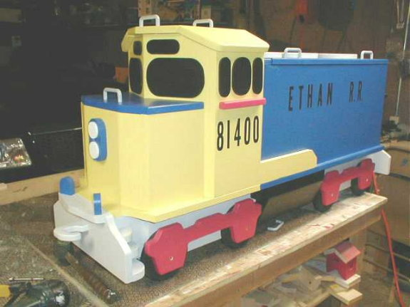 train toybox - Woodworking Talk - Woodworkers Forum