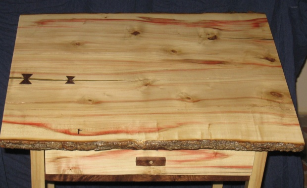 Saved Box Elder Walnut End Table Woodworking Talk