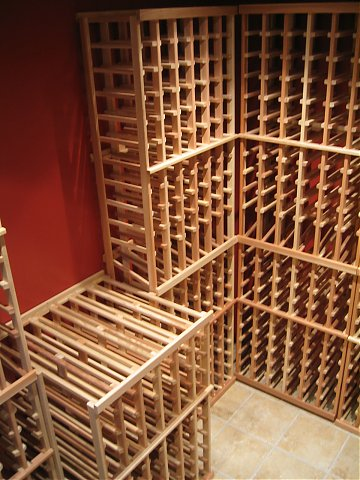 plans wine rack storage