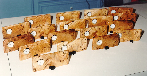 any unusual wood Christmas gift ideas we can make?-2-spalted-maple-clocks.jpg
