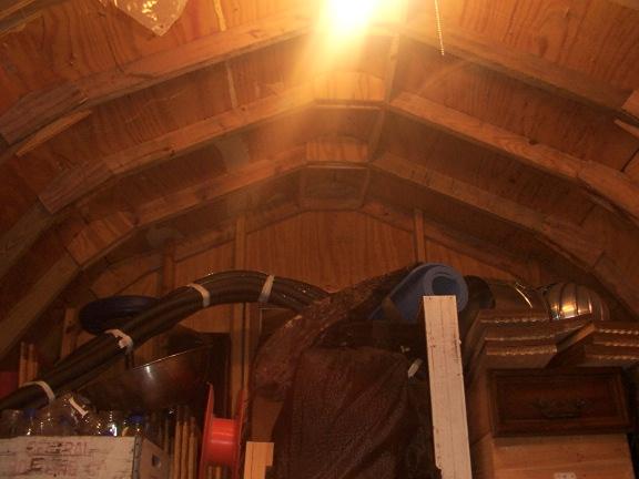 Dbhost 10x16 Gambrel Barn With Loft Woodworking Talk