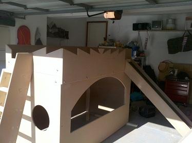 bunk bed plans mdf