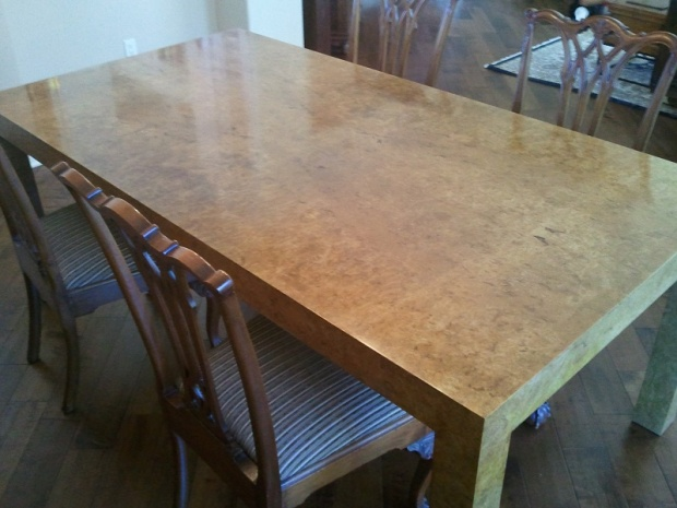 Parsons Dining room table - Woodworking Talk - Woodworkers Forum