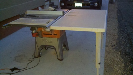 New r4512 outfeed table woodworking talk woodworkers forum name 2012 09 2519 26 18218smallg views 7073 greentooth Choice Image