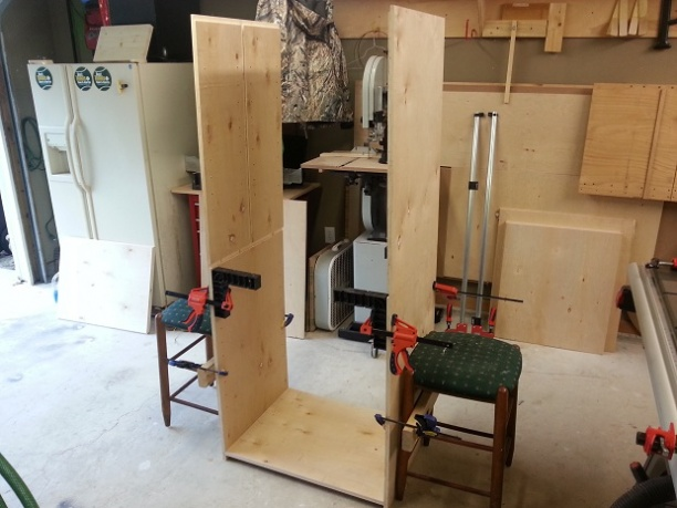 Rolling Garage Cabinet for Dad (Pic Heavy) - Woodworking Talk ...