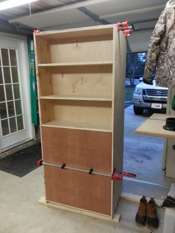 Rolling Garage Cabinet For Dad Pic Heavy Woodworking