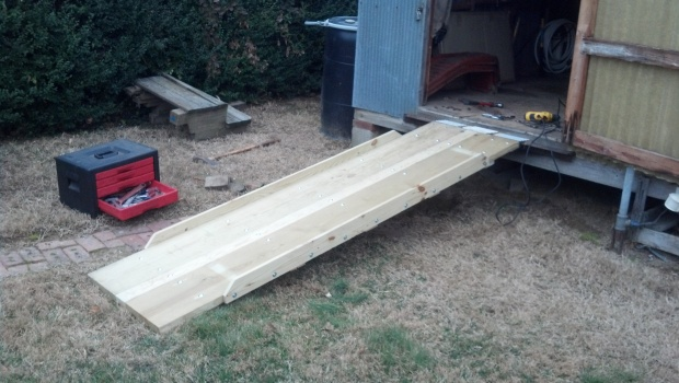 Garden Shed Ramp Woodworking Talk Woodworkers Forum