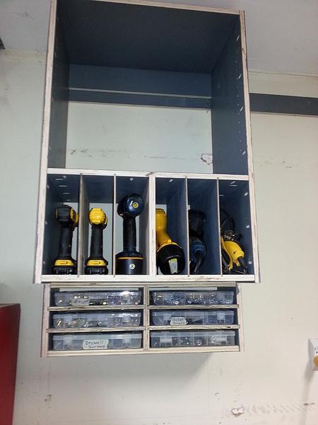 Plywood Shop Storage Cabinets Woodworking Talk