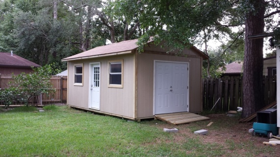 My New 12x20 Shed Workshop Woodworking Talk