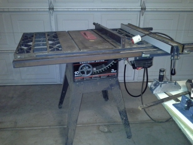 Restoring an old craftsman table saw woodworking talk restoring an old craftsman table saw 2014 01 05 231819 greentooth