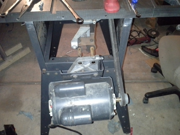 Restoring an old craftsman table saw woodworking talk restoring an old craftsman table saw 2014 01 07 193742 keyboard keysfo Choice Image