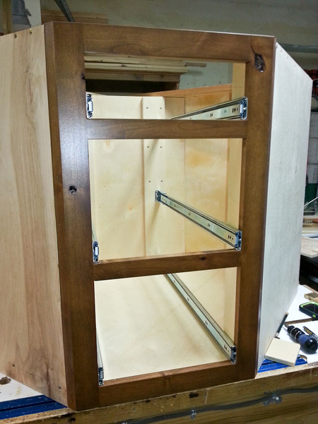 Convert Sink Base Cabinet To Functioning Drawers