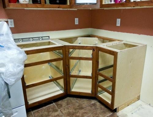 Corner Cabinet Drawer Design Question - Woodworking Talk ...