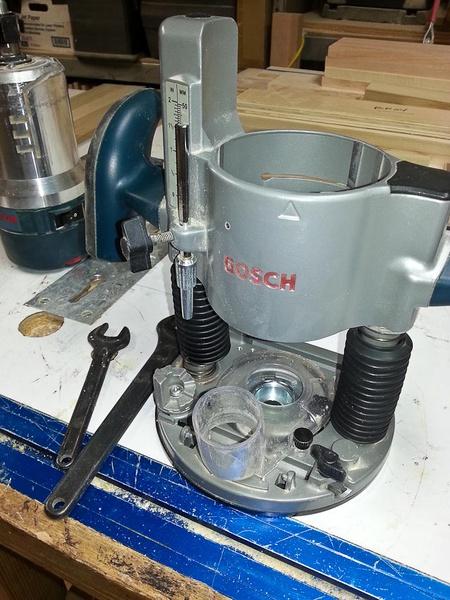 Bosch Vs Hitachi Dual Router Kit Woodworking Talk