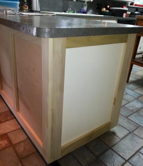 Kitchen island shaker panels - Woodworking Talk - Woodworkers Forum