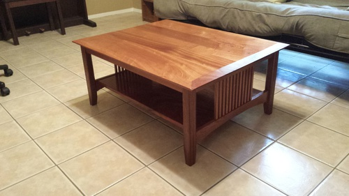 craftsman coffee table build (sapele) - woodworking talk