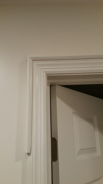 Adding backband to door casing baseboard sizing for Baseboard and door trim
