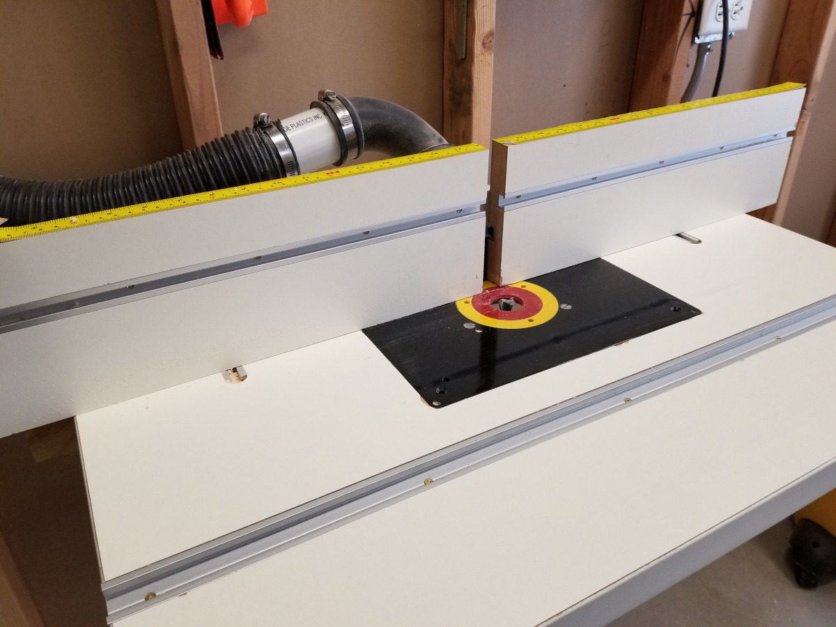 Router table fence adjustment woodworking talk woodworkers forum click image for larger version name 20180412162726g views 75 size 2344 greentooth Choice Image