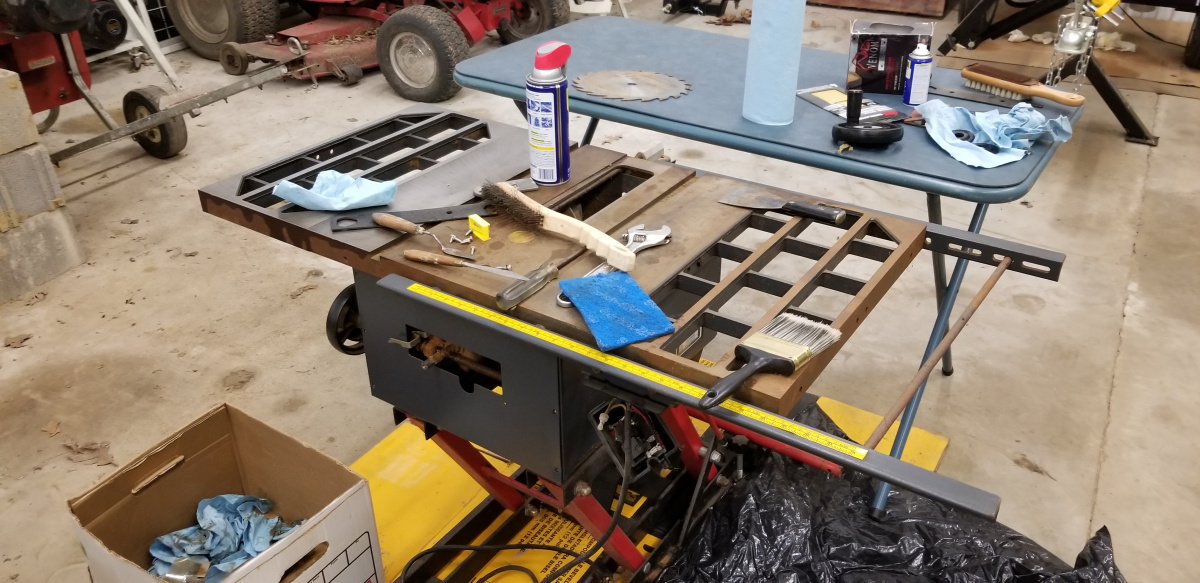 First Project - Sears Craftsman Mdl 113 226680 10 U0026quot  Direct Drive Table Saw