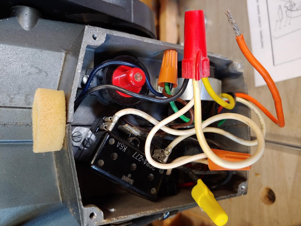 Members  Looking For Wiring Help On Radial Arm Saw - Woodworking Talk