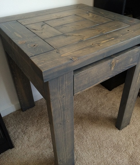 Simple 2x4 End Table Woodworking Talk Woodworkers Forum
