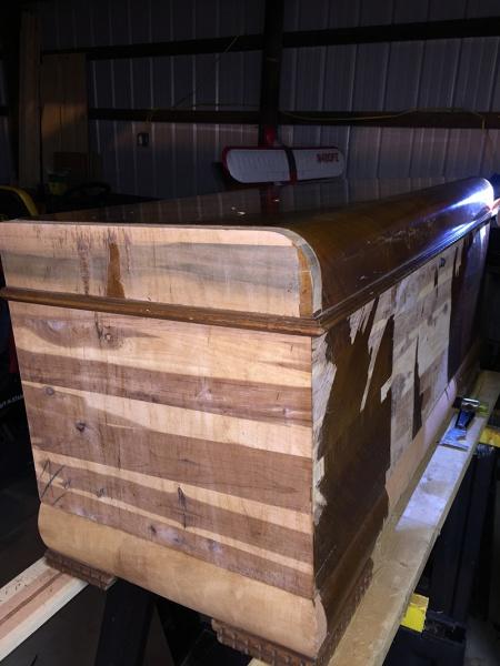 Refinishing Cedar Chest   1st timer.   Woodworking Talk