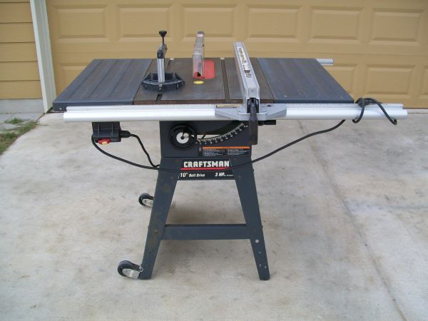 Another Chance At A Craftsman Table Saw Woodworking Talk Woodworkers Forum