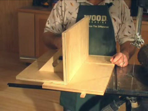 Bandsaw Resawing Guide