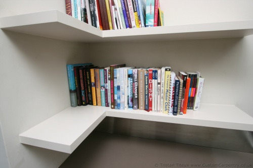 Can I make L shaped corner shelves like this from solid ...