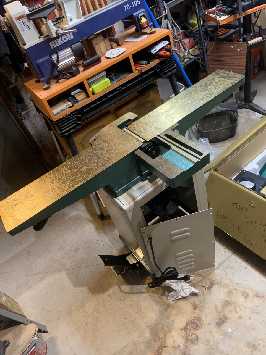 Grizzly Jointer G0813 Woodworking Talk Woodworkers Forum