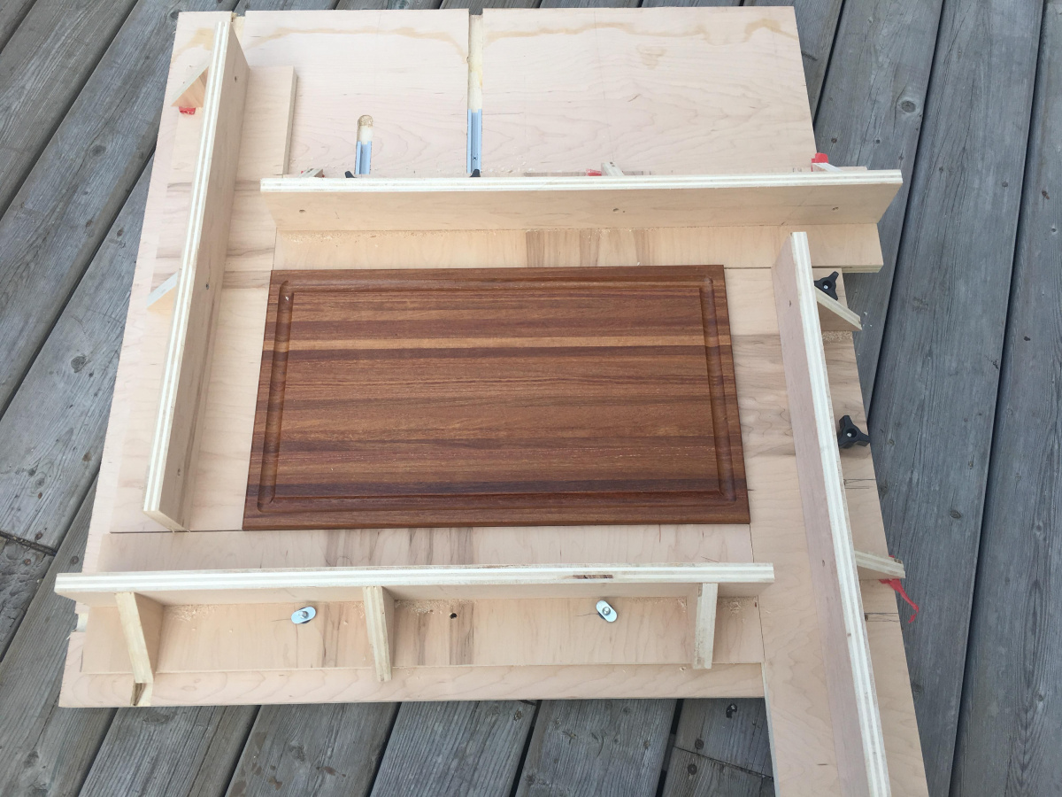 Small Jig To Make Juice Groove For Wood Cutting Board