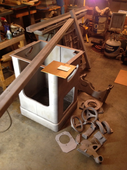 Restoration - Powermatic 66 Table saw - Page 2 - Woodworking
